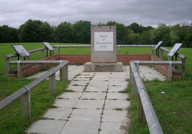 Site of battle of Newburn Ford
