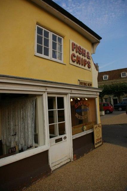 Fish and chip shop, Wickham Market