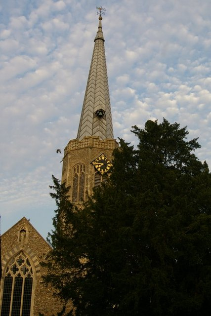Spire of All Saints' Church, Wickham Market