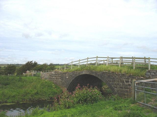 Pont Bwcle - Bulkeley Bridge over Afon Cefni