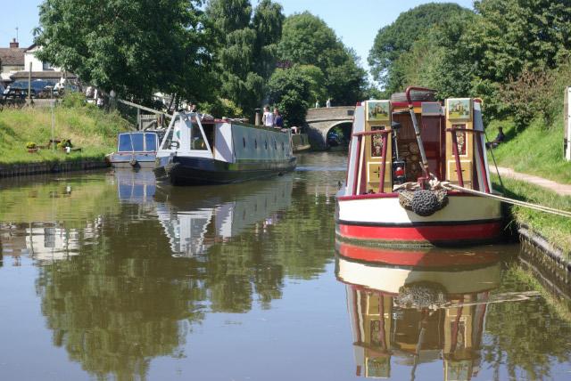 Shropshire Union Canal, Wheaton Aston