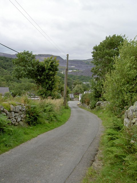 The road from Gerlan
