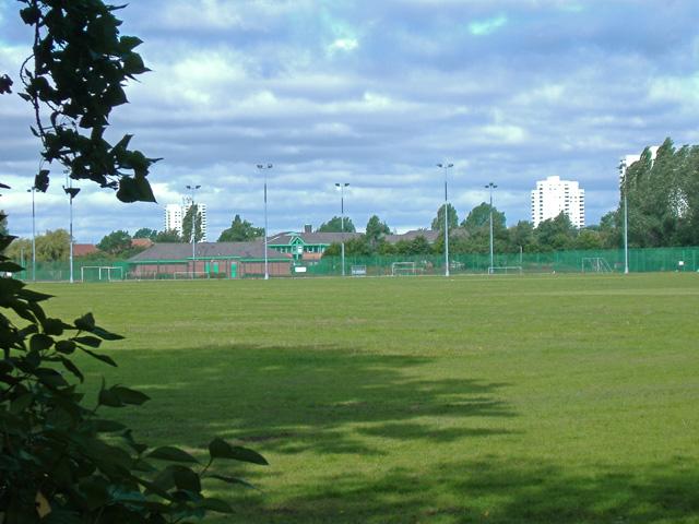 Princess Elizabeth playing fields