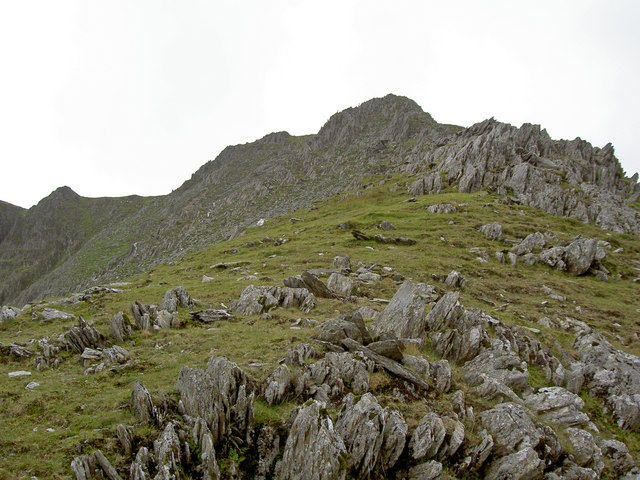 Yr Elen from the NE ridge