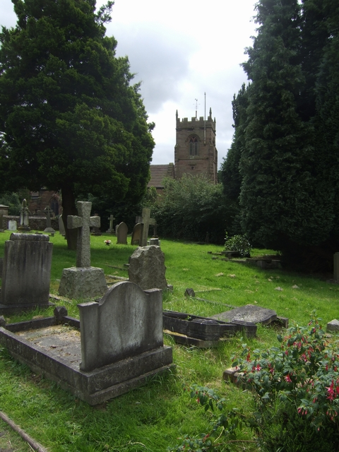 S Nicholas Church, Codsall
