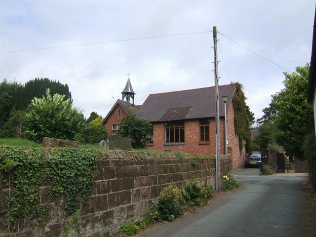 Old school buildings,Codsall