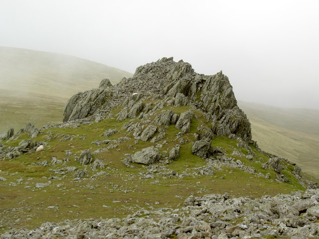 This rock outcrop served as a beacon in the shifting mists