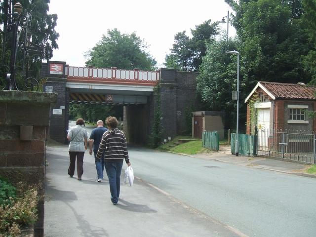 Codsall Station Railway Bridge