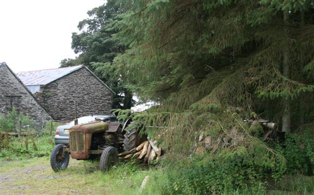 Derelict Tractor!