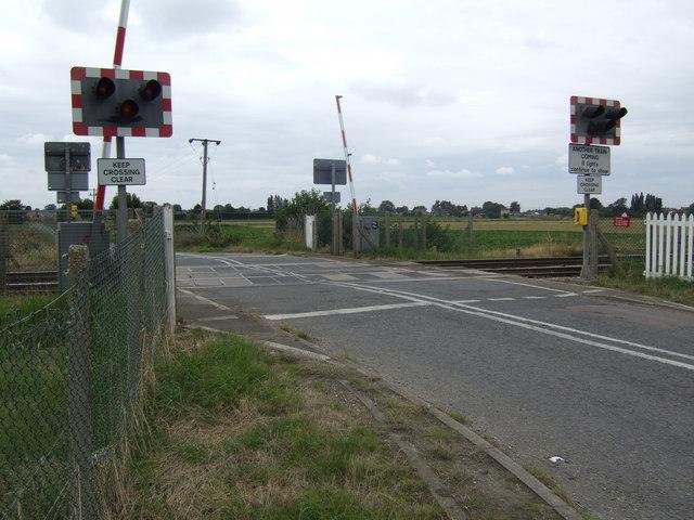 Welney Road Level Crossing, Manea