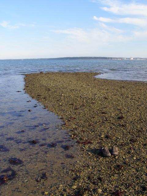 Outer gravel banks, Calshot Beach