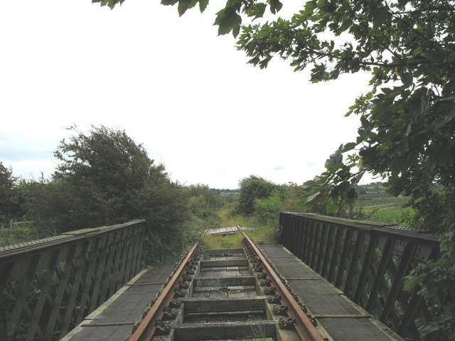 Pont Goed - bridge over Afon Cefni on the disused Amlwch goods line