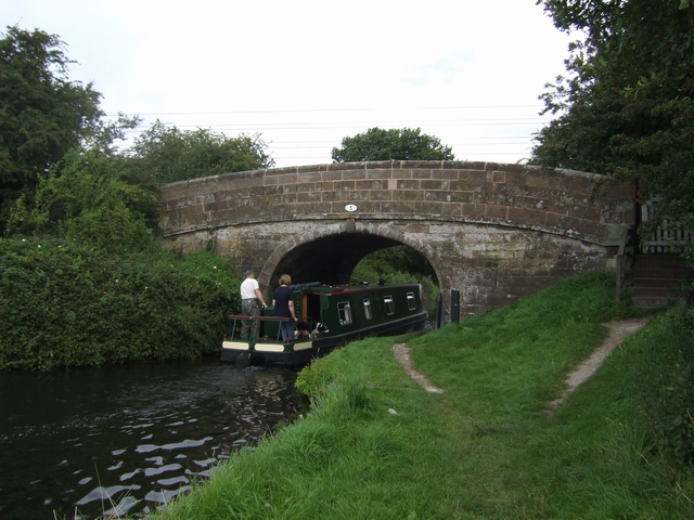 Bridge 5, Shropshire Union Canal