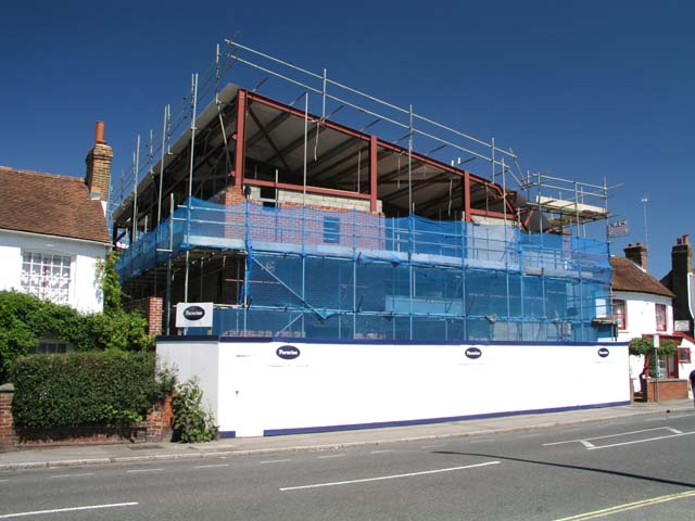 Brighton Road Baptist Church: The Roof Is On