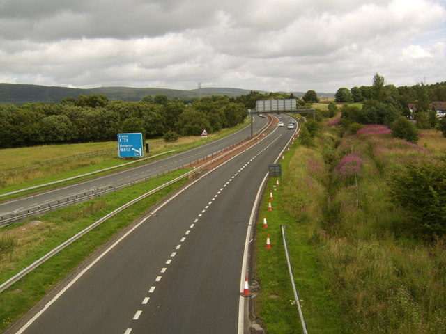 M898 looking North