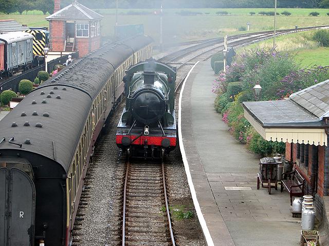 Llangollen Railway at Carrog