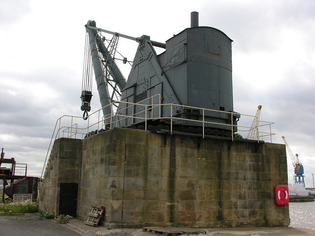 100 Ton Steam Crane, Alexandra Dock