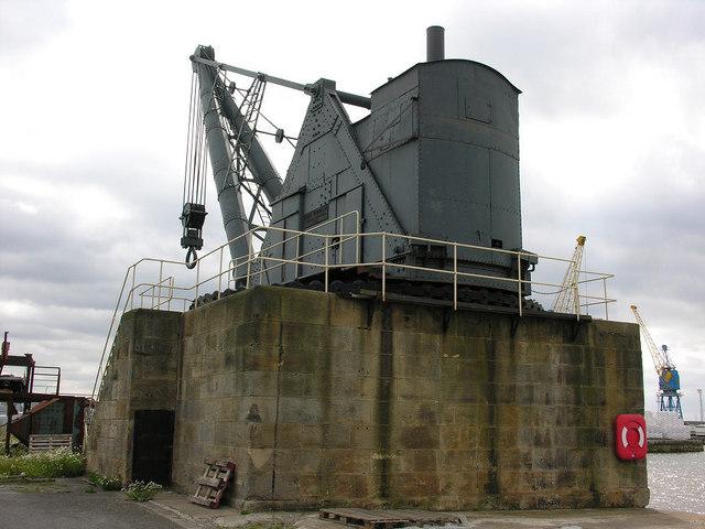 100 Ton Steam Crane, Alexandra Dock