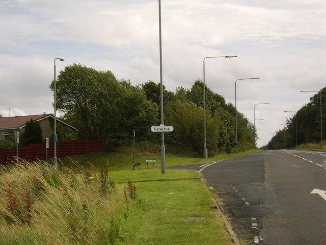Signpost for Erskine