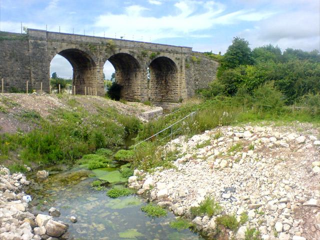 Railway bridge near works