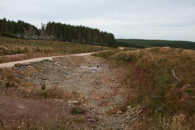 Small Quarry South of Kerran Hill.