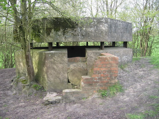WW2 Pill Box at Box