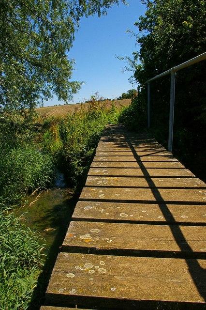Footbridge to High Roding