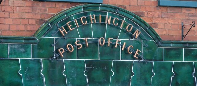 Heighington Post Office Sign