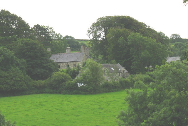 Plas Penmyndd from Llanffinan church