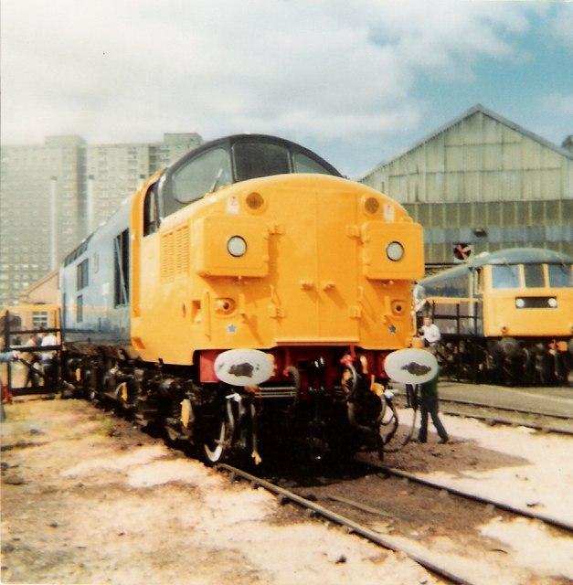 St Rollox Depot Open Day 1981