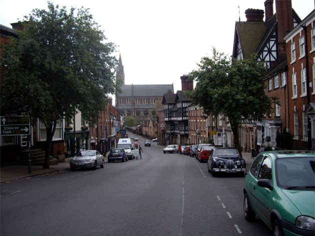 King Edward Street, Leek