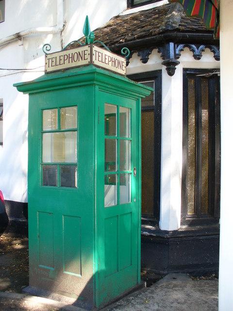 Evergreen Telephone Box