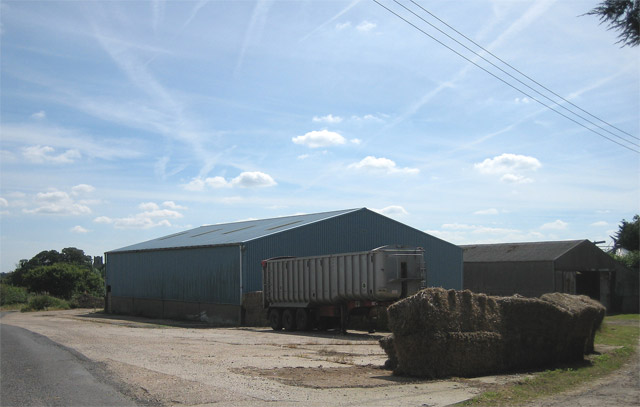 Farm buildings at Upwood Farm