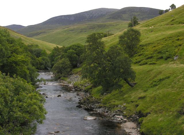 The River Tilt above Marble Lodge