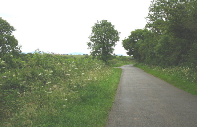 Minor road to Talwrn