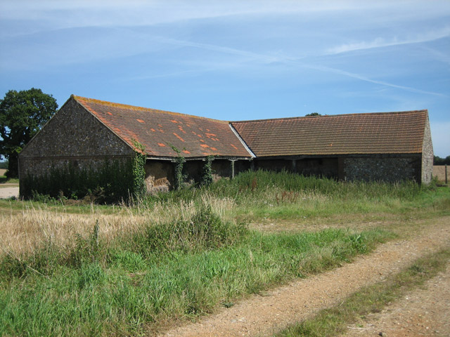 Another side of an old farm building