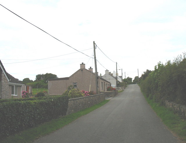 Traditional cottages at the southern outskirts of Talwrn