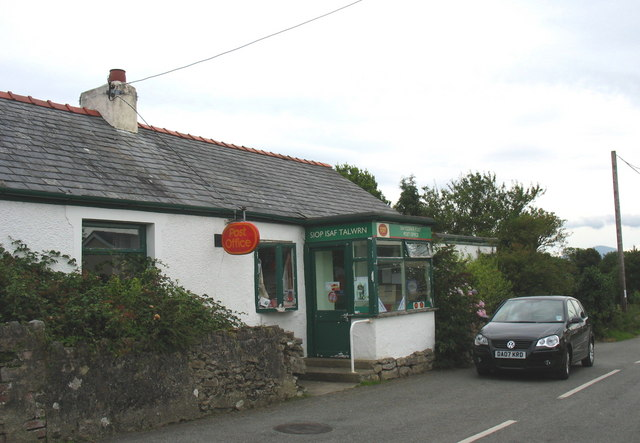 Siop Isaf Talwrn - General Stores and Post Office