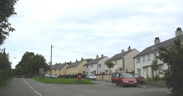 Council Estate at Talwrn