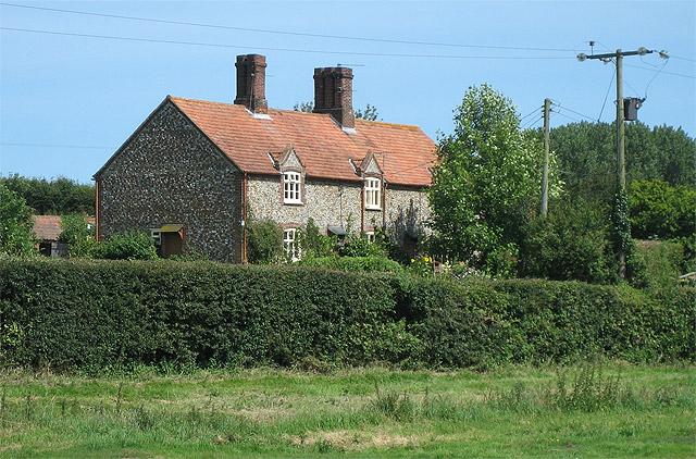 Cottages near Hempstead Hall