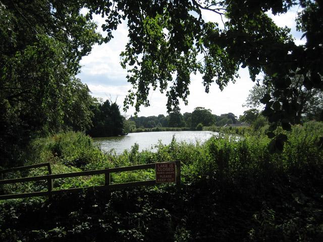 Lake closed - banks unsafe