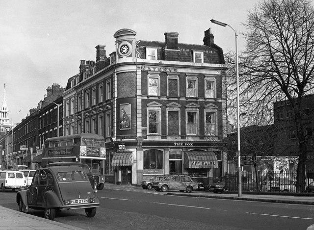 """The Fox"", Islington Green, London"