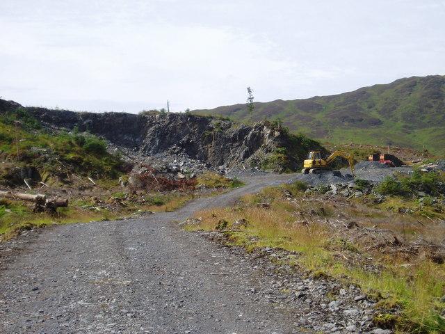Gate Craig quarry