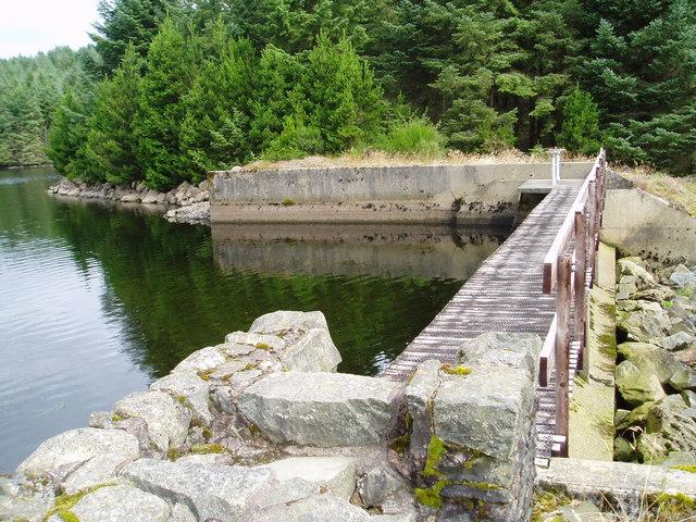 Loch Minnoch Dam.