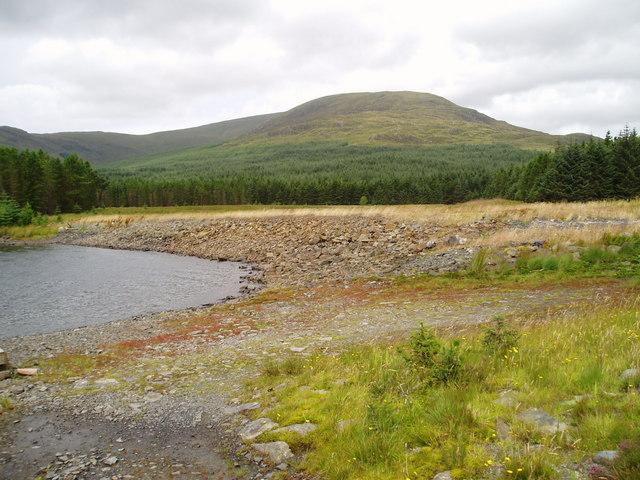 Loch Dungeon dam.
