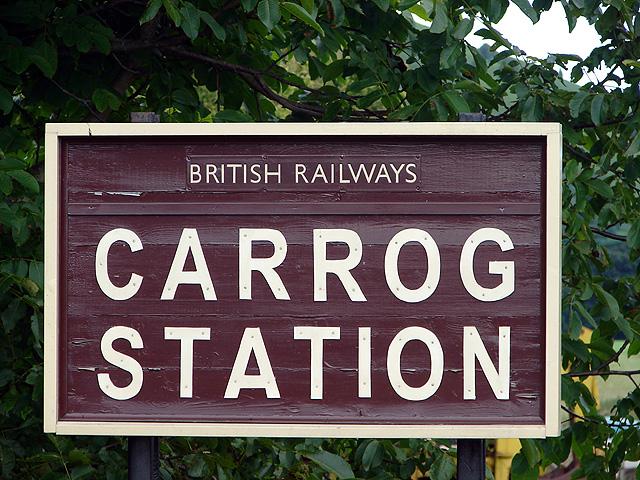 Carrog Station