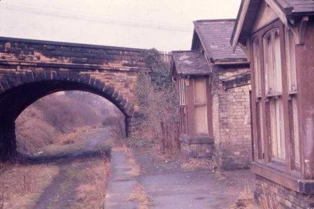 Rowlands Gill - Derelict Railway Station