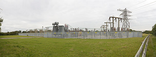 Langley electricity substation