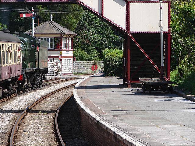 Glyndyfrdwy Station Llangollen Railway