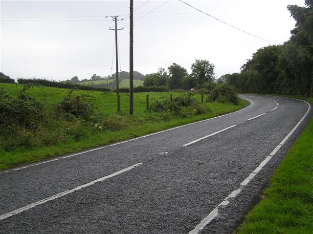 A46 Lough Shore Road near Church Hill